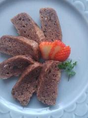 2月28日のレシピ レンジパン粉ケーキ
