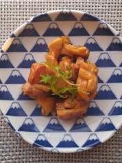 5月30日のレシピ 鶏肉のマーマレード煮