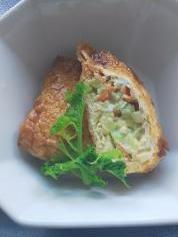 6月10日 野菜の皮の信田煮