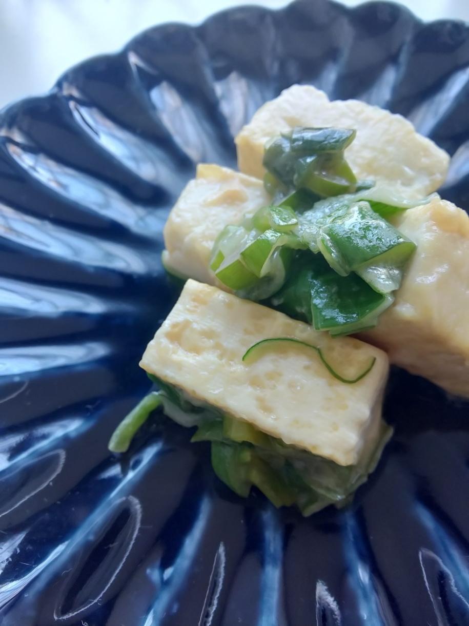 3月30日 豆腐のごまだれ煮