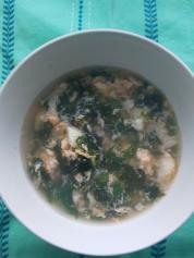 3月30日 海苔と卵スープ
